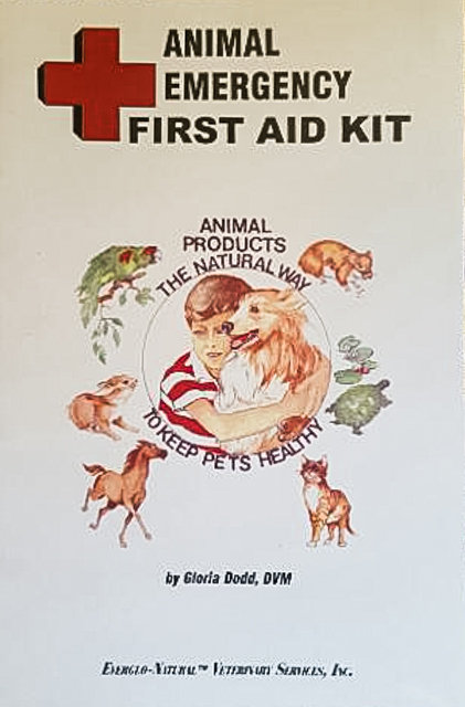 Animal Emergency First Aid Kit Book