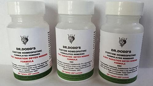 X-Ray Radiation Detox Nosode Formula 3 Bottle Set - 12X, 30C, 60C