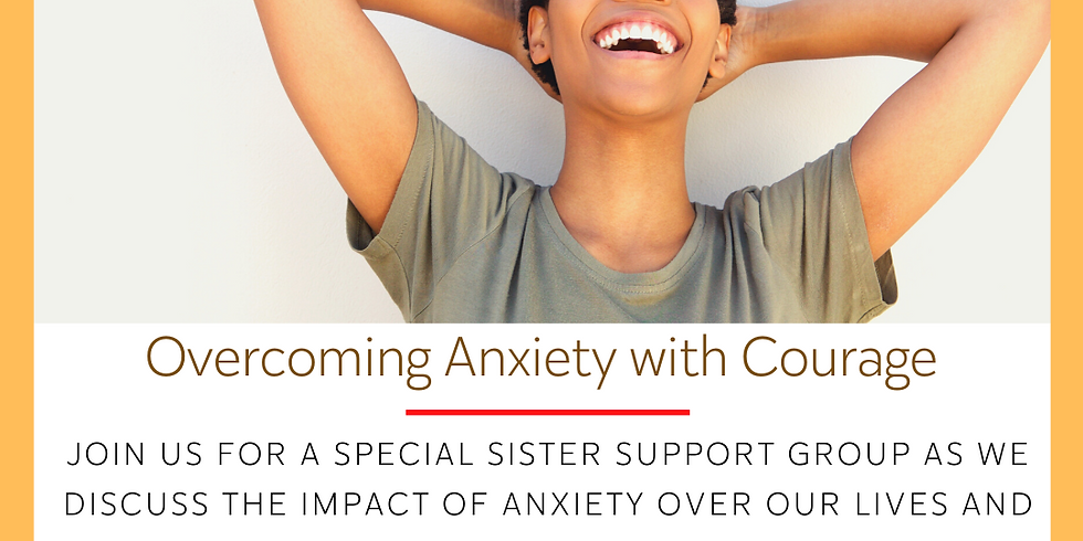 Online Sister Support Group: Overcoming Anxiety with Courage