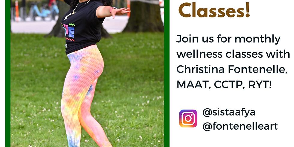 YOGA - Wellness Class w/ Christina Fontenelle
