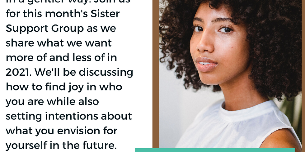 Sister Support Group: Gentle Resolutions