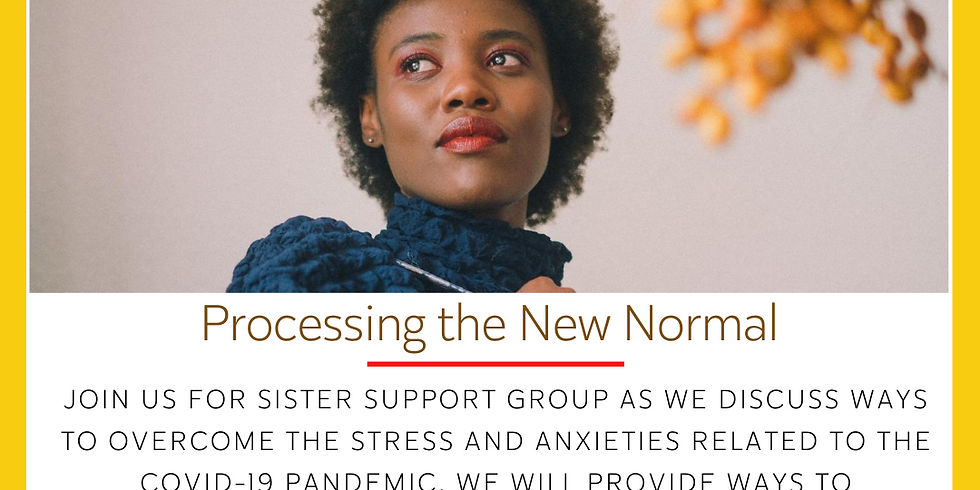 Sister Support Group: Processing the New Normal