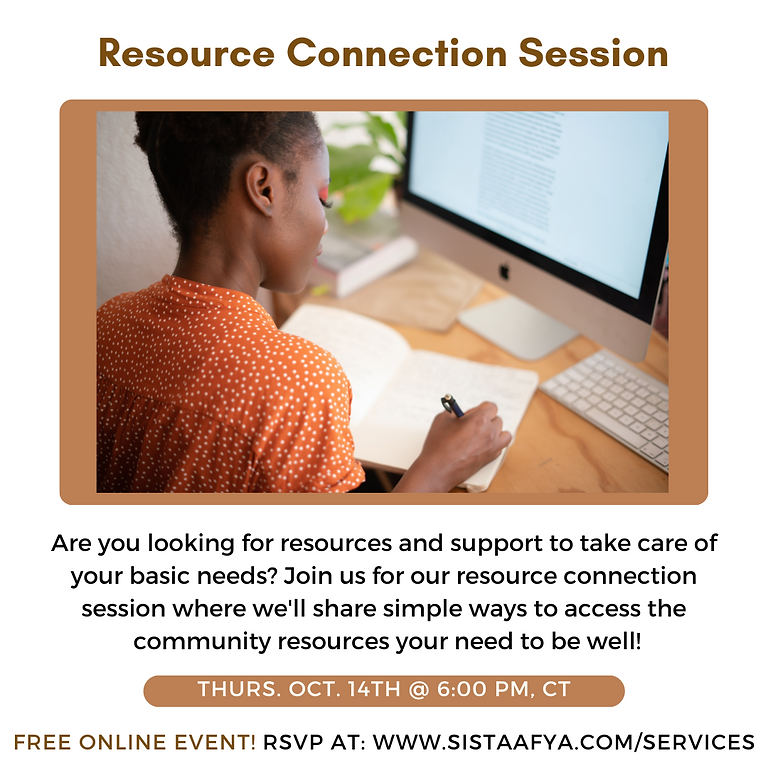 Resource Connection Session