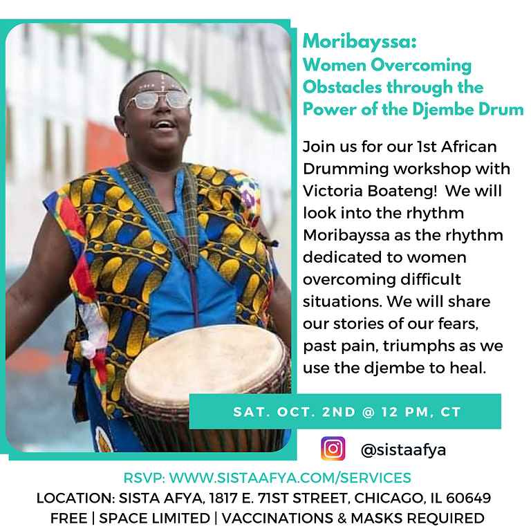 Moribayssa: Women's Djembe Drum Circle
