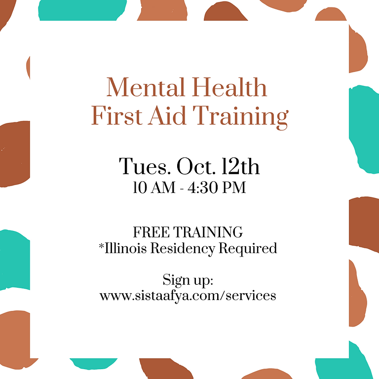 Mental Health First Aid Training - Illinois Residents Only