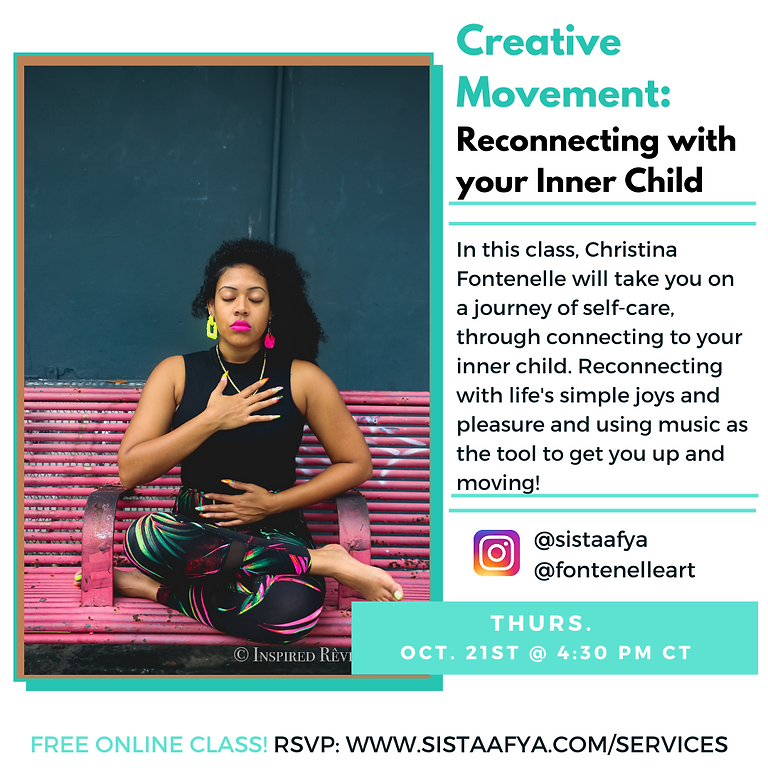 Creative Movement : Reconnecting with your Inner Child