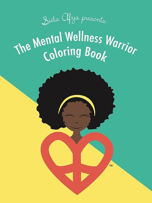 Mental Wellness Warrior Coloring Book - Digital Copy