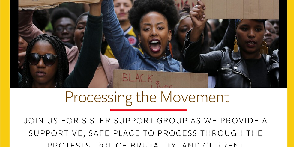 Sister Support Group: Processing the Movement