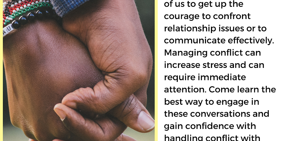 Communication and Managing Conflict