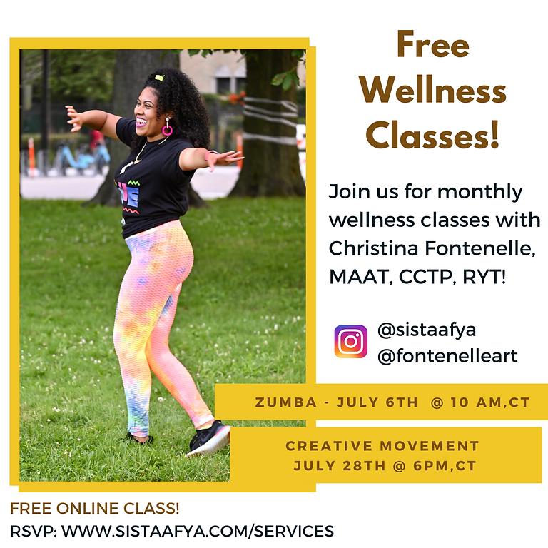 CREATIVE MOVEMENT - Wellness Class w/ Christina Fontenelle