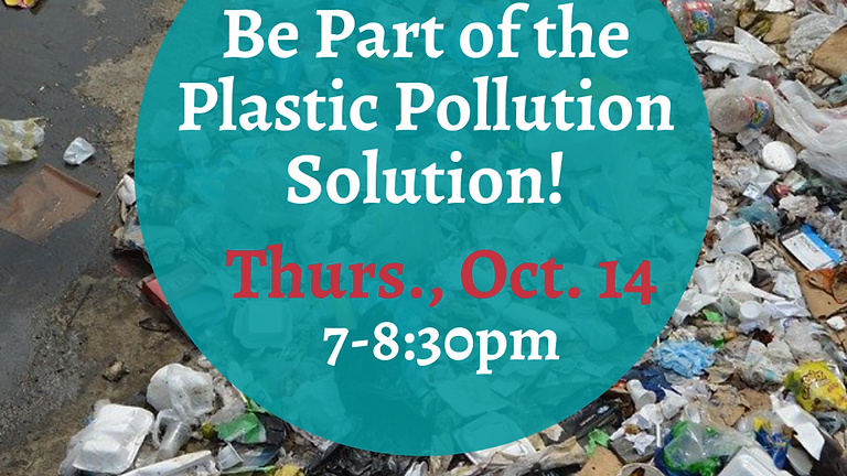 Be Part of the Plastic Pollution Solution!