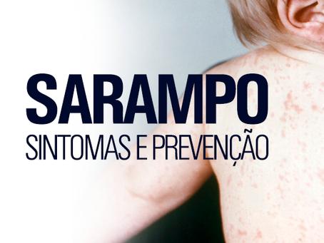 Sarampo: sintomas, prevenção, causas, complicações e tratamento