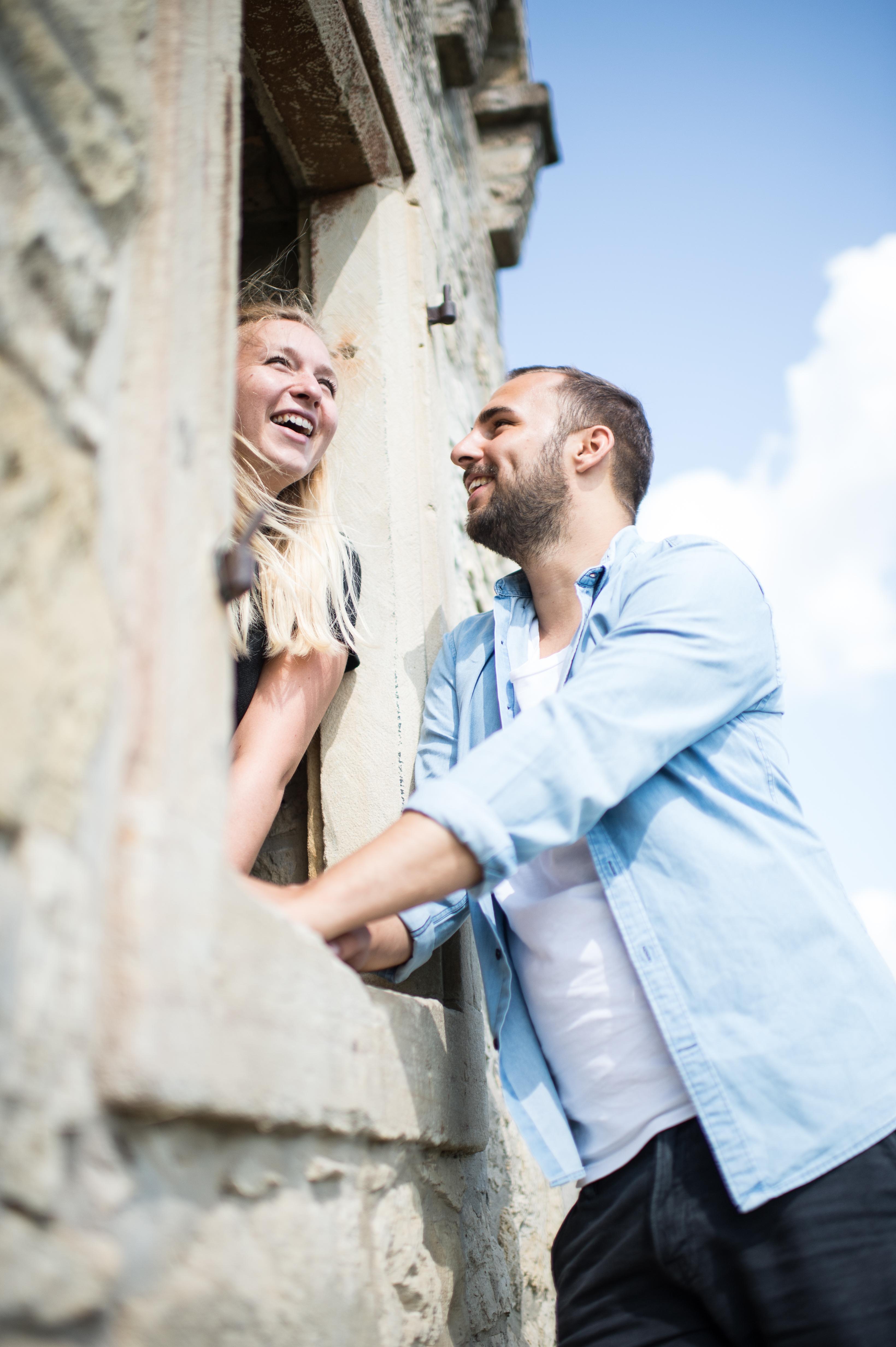 Romantik im alten Turm