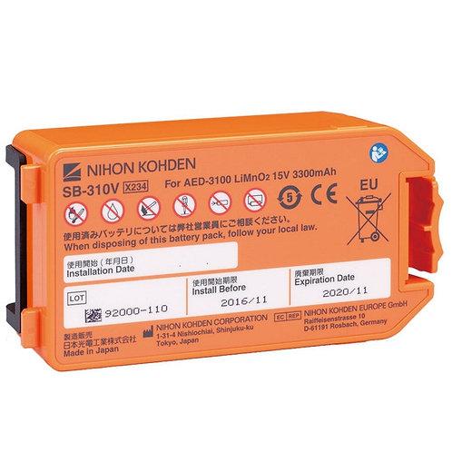 Nihon Kohden AED-3100 batteri