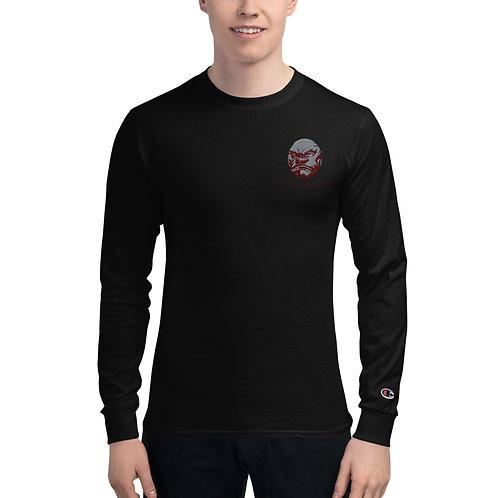 Men's Emboridered Champion Long Sleeve Shirt