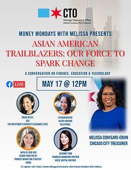 Asian American Money Mondays wMelissa -