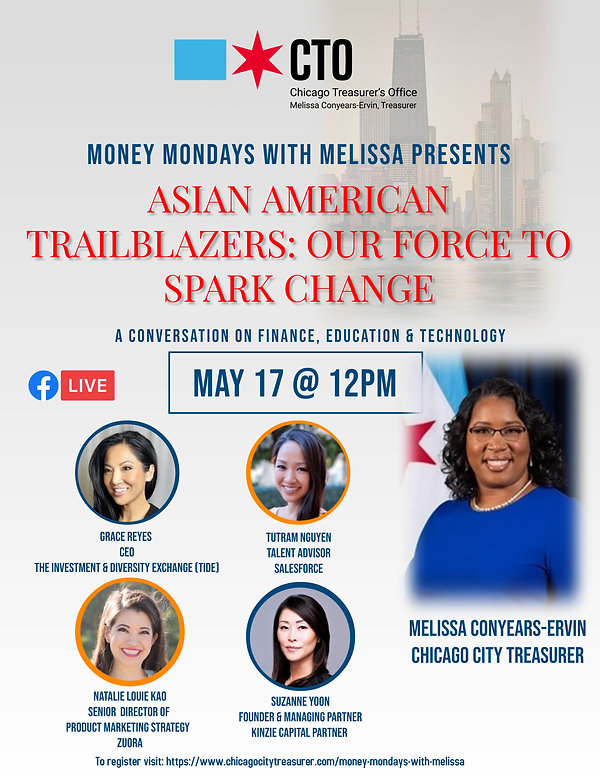 Asian American Money Mondays wMelissa -