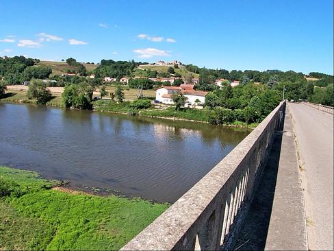 Traversée de la Loire à Iguerande