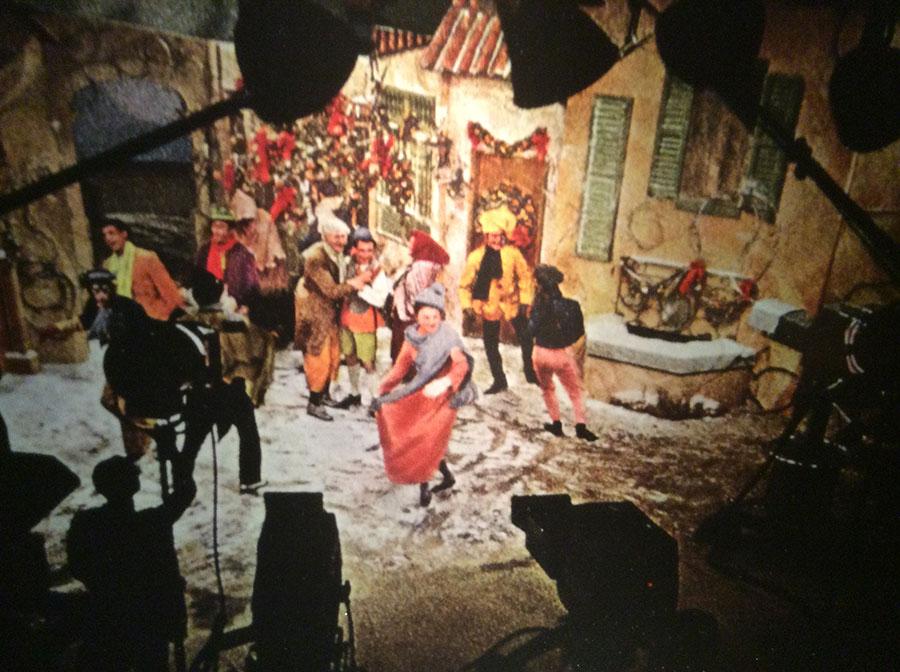 PInocchio-TV-Filming