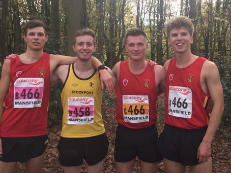 BUAC at the National Cross Country Relays