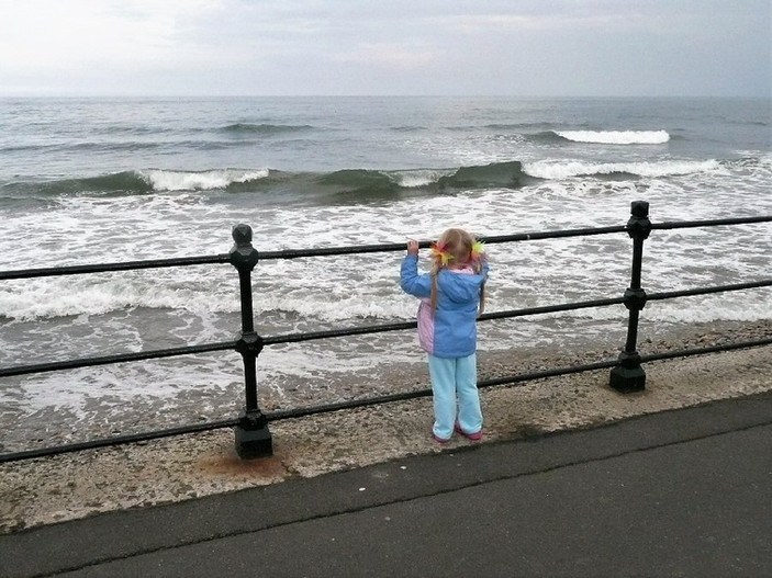 watching the waves