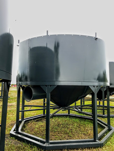 19ft Hopper with Extension Ring, Horizontal Air
