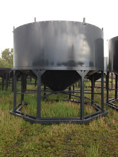 14ft Hopper with extension ring