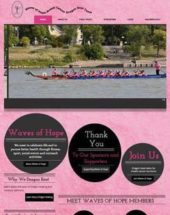 Waves of Hope website