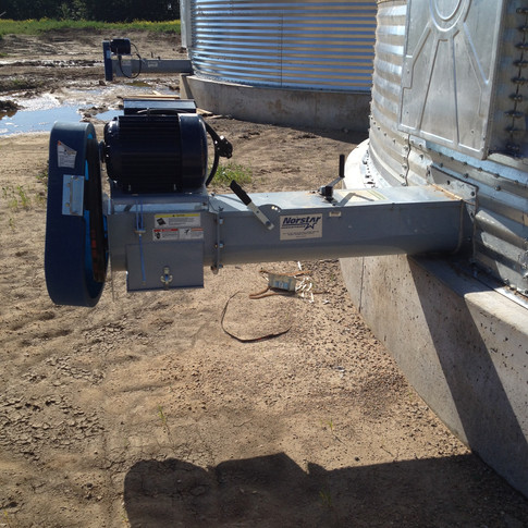 Norstar unload and sweep