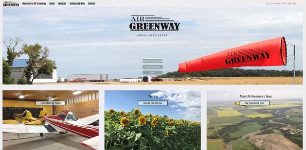 Air Greenway website