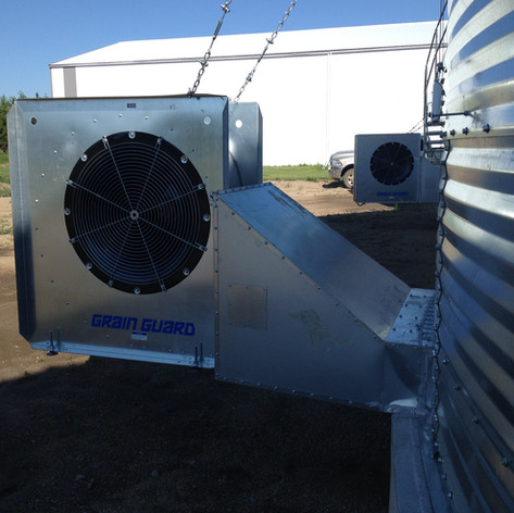 low speed centrifugal fan