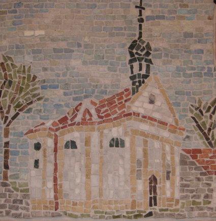 """Wandmosaik """"Annakapelle"""" klein"""