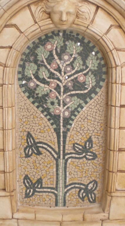 """Wandmosaik """"Lebensbaum I"""""""