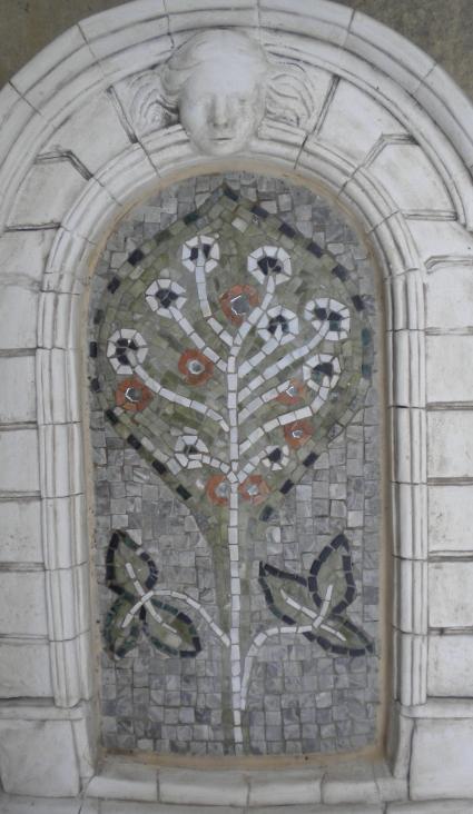 "Wandmosaik ""Lebensbaum II"""