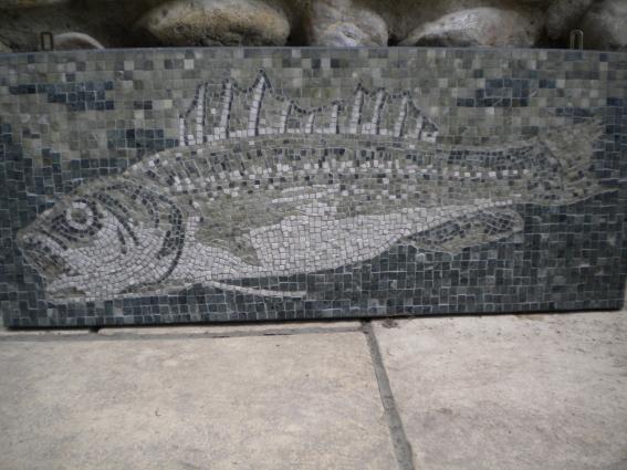 """Wandmosaik """"Fisch"""""""