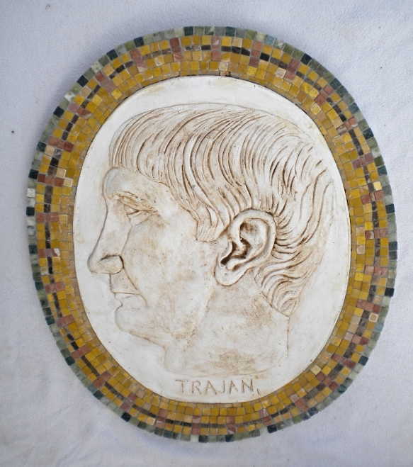 "Wandmosaik ""Trajan"""