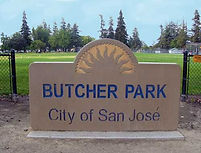 Butcher Park Sign