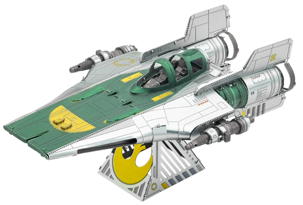 Star Wars Resistance A-Wing Fighter by Metal Earth