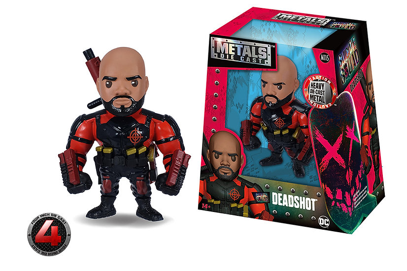 Deadshot De Metal 13 Cm Jada Toys
