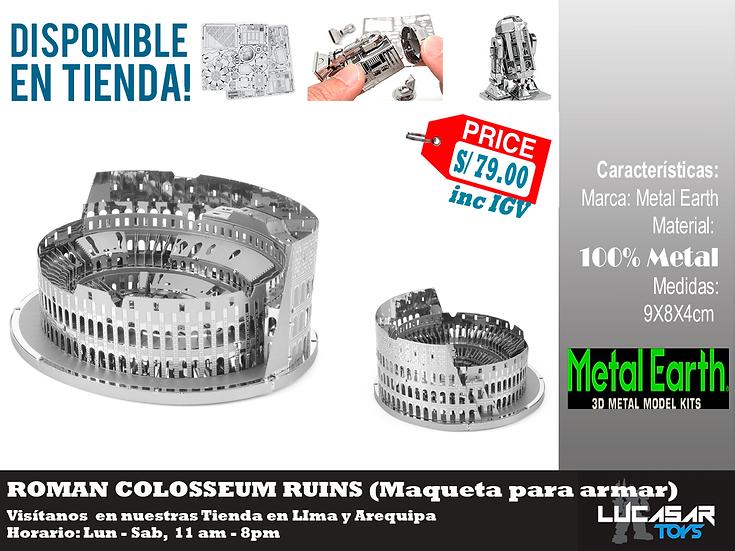 Roman Colosseum Metal Earth