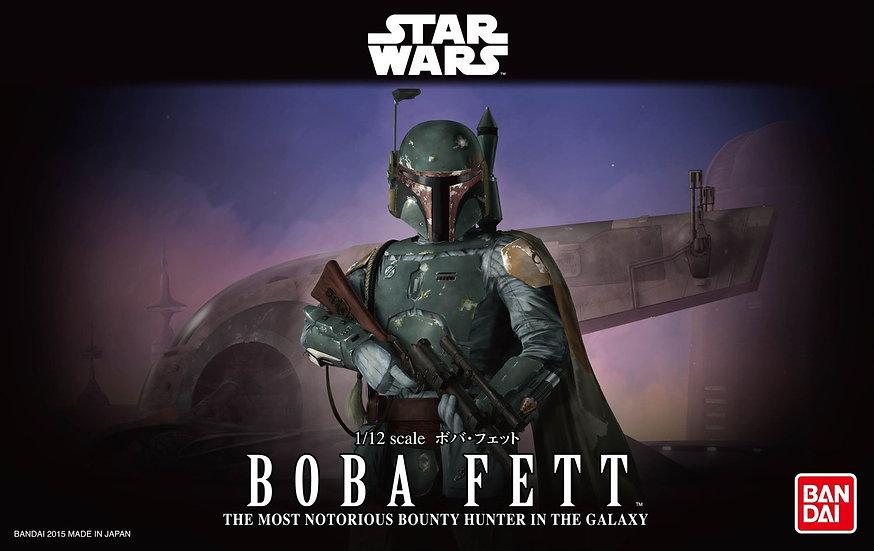 Boba Fett Star Wars Bandai 1/12 Model Kit