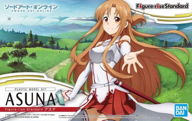 Asuna Sword Art Online Figure rise Bandai