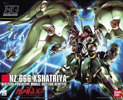 #99 NZ-666 Kshatriya, Bandai HGUC