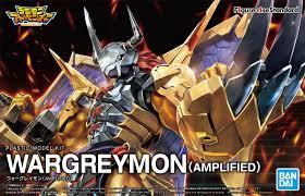 "Wargreymon (Amplified)  ""Digimon"", Bandai Spirits Figure-rise Standard"