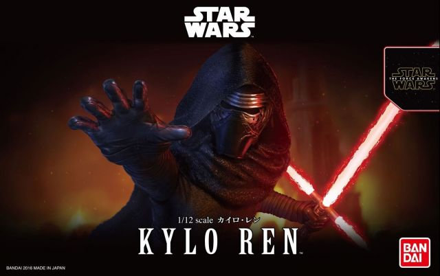 Kylo Ren 1/12 Star Wars Bandai Model Kit