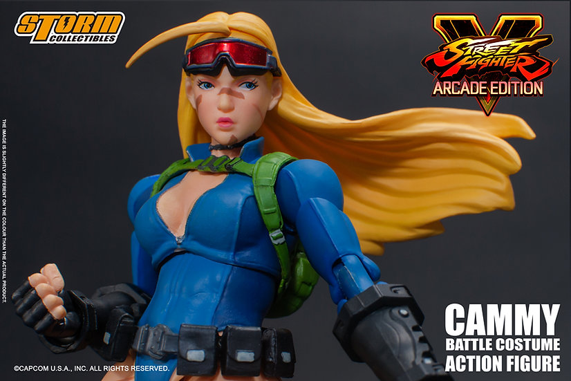 "Cammy Battle Costume ""Street Fighter V"", Storm Collectibles 1/12"
