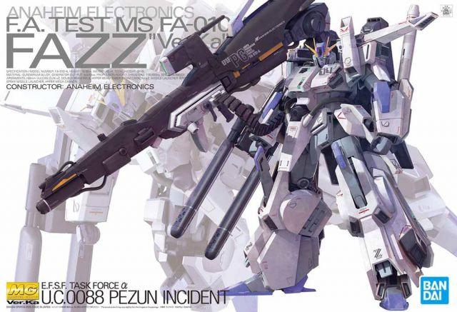 "FAZZ (Ver.Ka) ""Gundam Sentinel"", Bandai Spirits MG 1/100"
