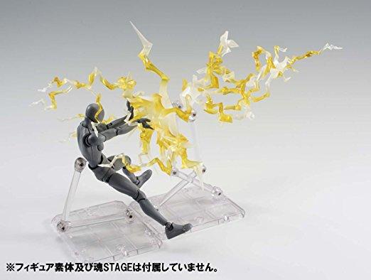 Thunder Yellow ver Bandai Tamashii Effect