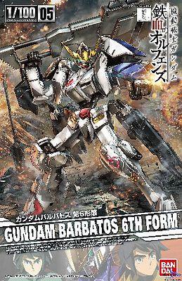 """Gundam Barbatos 6th Form """"Gundam IBO"""", Bandai 1/100 IBO"""