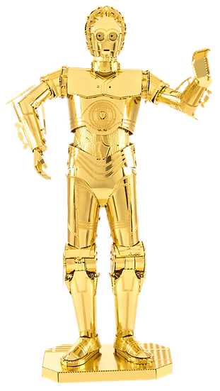 Star Wars Gold C-3PO by Metal Earth